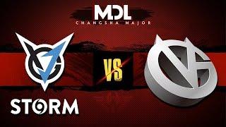 VGJ.Storm vs Vici Gaming Game 1 - MDL Major 2018: Group Stage - @GranDGranT @Kyle