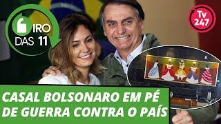 Casal Bolsonaro em pé de guerra contra o país - Giro das 11 - 18.dez.2018