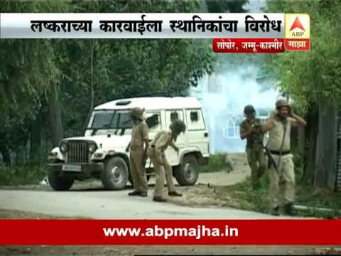 Jammu Kashmir : Sopore Encounter, 1 Militant Killed