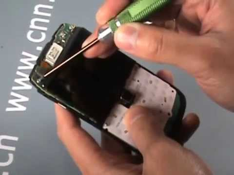 BlackBerry Bold 9700 disassembly tutorial