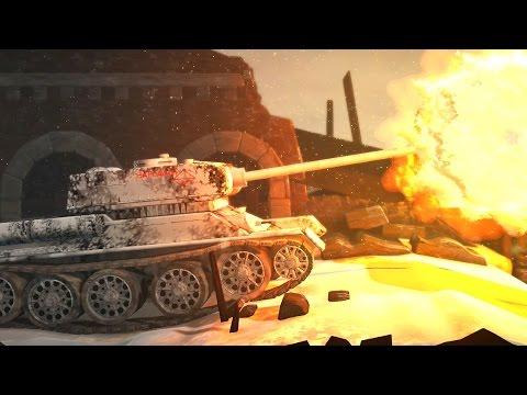 LittleBigPlanet 3 - WW2 / World War 2 Russian T-34-85 TANK - PS4 Gameplay