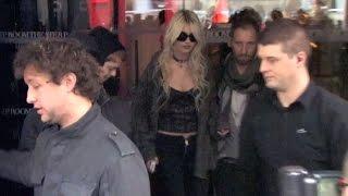 Gossip Girl star and singer Taylor Momsen in Paris