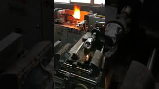 Manufacturing process of a waste glass bottle || Machines and Industry