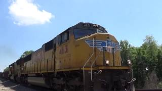 UP SD70Ms 4631 and 5049 Lead a CP Manifest on 5/28/18