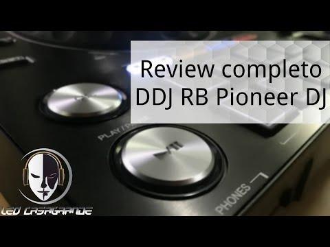 Review Pioneer DJ DDJ-RB Controlador do Rekordbox DJ