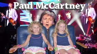 PAUL MCCARTNEY ONE ON ONE TOUR Kids Get To See A Musical Legend Live With Harzel