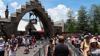Why We Don't Recommend The Single Rider Line On Hagrid's Roller Coaster At Universal Orlando!