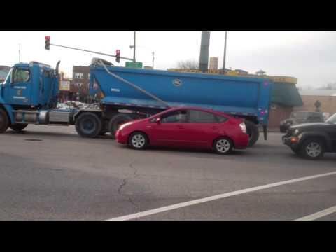 City Of Chicago Semi Dump Truck