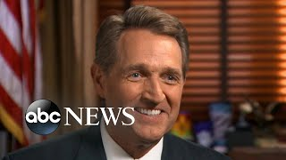 President Trump 'inviting' a Republican or independent challenger in 2020: Sen. Jeff Flake