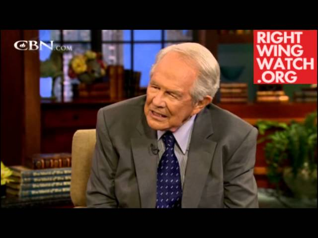 Pat Robertson Tells Man to Beat his Wife, Move to Saudi Arabia