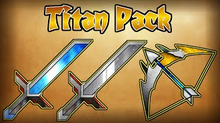 ★ TITAN ANIMATED  PVP TEXURE PACK ★