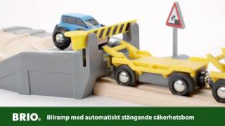 BRIO Car Transporter Rail and Road Set 33212 Svenska