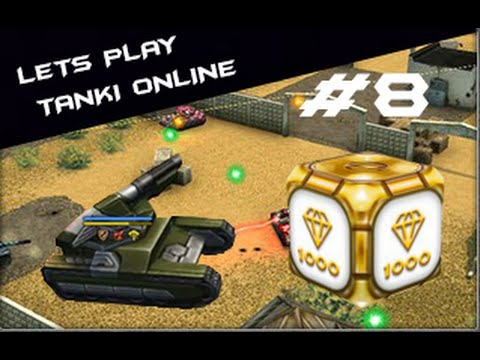 TESTING NEW GUN HAMMER(SHOTGUN).GOLD BOX [HD] - LETS PLAY TANKI ONLINE #8