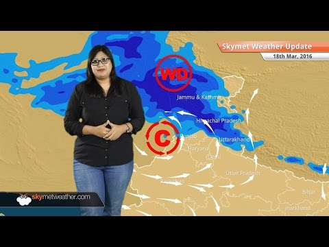 Weather Forecast for March 18: Snow in Kashmir and Himachal, Passing showers in Delhi