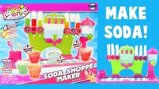 Yummy Nummies Soda Maker NEON Set! New Flavors! Food Maker