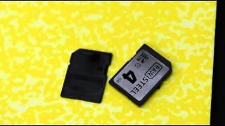 Hoodman steel plated memory cards