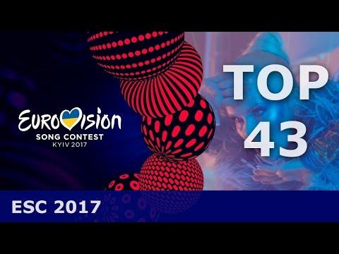 ESC 2017  My Top 43