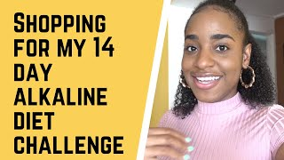 14 DAY ALKALINE DIET GROCERY SHOPPING
