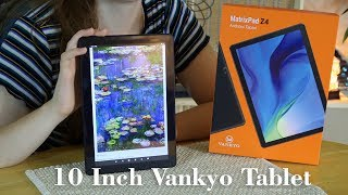NEW 10 Inch Vankyo MatrixPad Z4 💥Android Tablet Powerful & Affordable! 👈