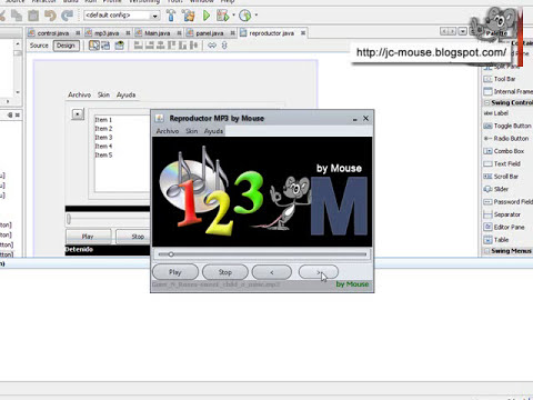 Reproductor MP3 en java con playlist
