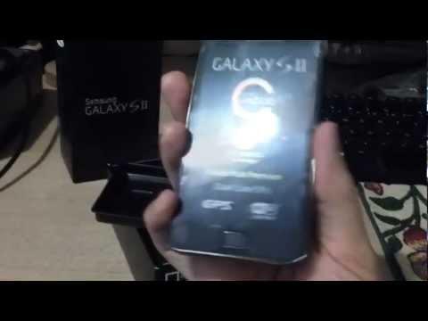 Samsung Galaxy SII - unboxing (português BR)