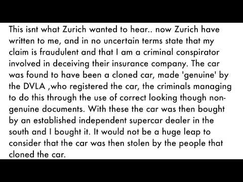 Zurich Insurance - You Might Want To Think Again.