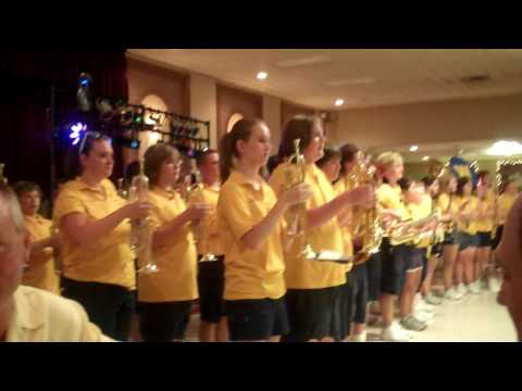 re-union...Wyandotte High School Marching Band Video