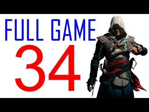 Assassin's creed 4 walkthrough - Part 34 Gameplay Let's play PS4 XBOX PS3 AC4 Black Flag No Commentary