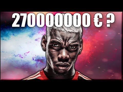 ТРАНСФЕР ПОГБА В БАРСЕЛОНУ ЗА 270000000 ЕВРО? | FIFA 18 КАРЬЕРА ЗА БАРСЕЛОНУ ФИФА 18