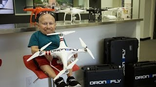 I Crash My Drone! | Verne Troyer