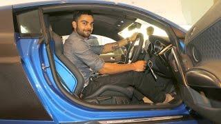Virat Kohli talks about his new Audi R8 LMX