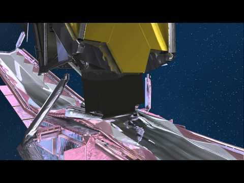 James Webb Space Telescope Deployment Animation