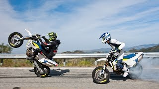 Los Angeles is our playground | Husqvarna 701 Rideout | David Bost