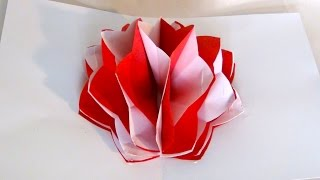 How To Make A Pop-up Paper Flower