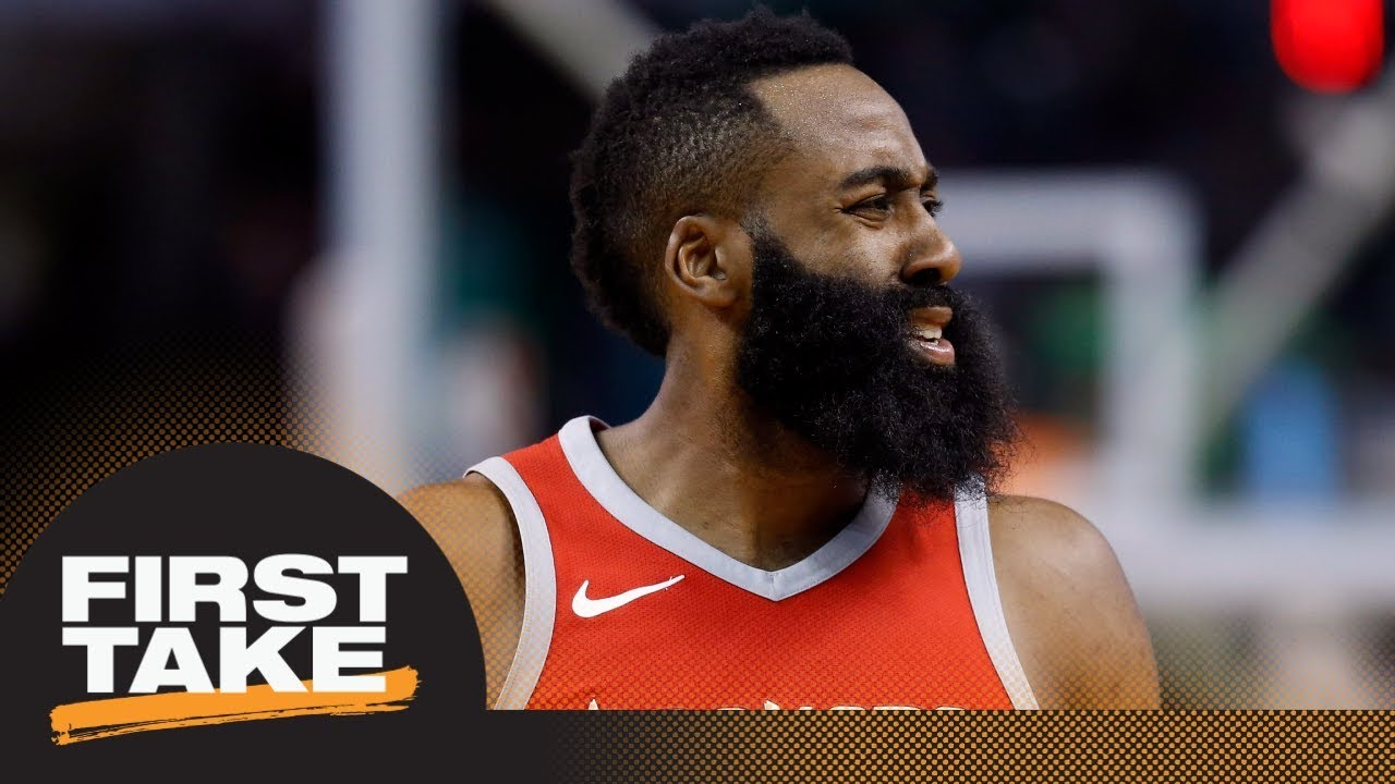 James Harden sounding off on referees looks 'petty' | First Take | ESPN