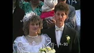 Wesele z lat 90-tych - Mamy i Taty - 21.04.1990r.