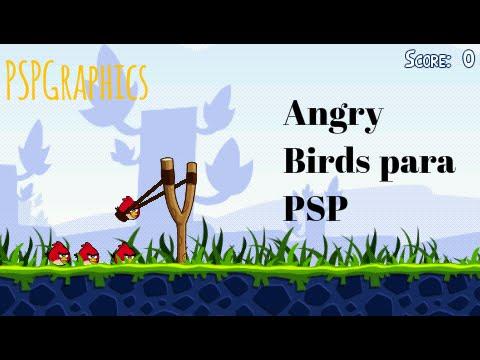 Descargar e instalar Angry Birds Para Tu PSP