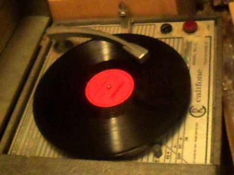 FRANKIE YANKOVIC 78rpm POLKA RECORD BURKHARDT BEER COMMERCIAL 1952