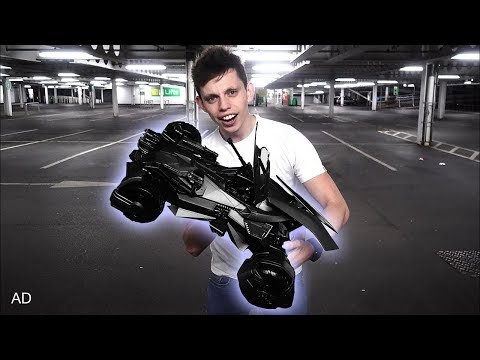 The coolest toy ever! Justice League Ultimate Batmobile