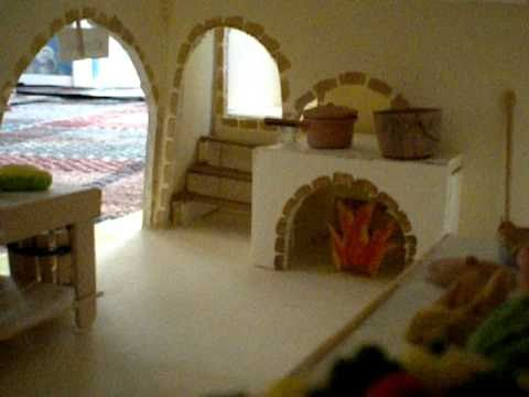 Tour Of A Roman Villa Model Youtube