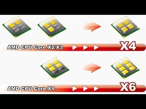 Как разблокировать ядра в процессорах AMD часть 2
