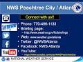NWS Atlanta Weekly Weather Briefing July 23, 2020