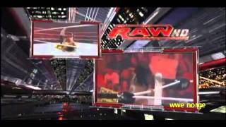 Kofi Kingston vs Alberto del rio WWE championship tournament round 1  18/7/11