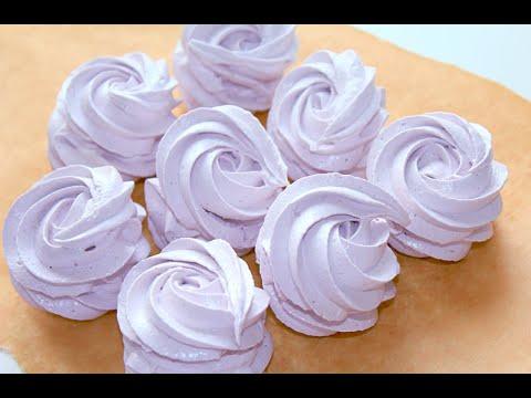 Зефир лавандовый / Lavender zephyr / Lavender marshmallows