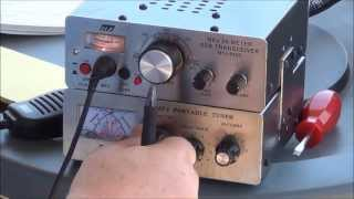 Contact!  Buddiepole Inverted V using a MFJ-9420 QRP SSB and MFJ-971 Tuner - AF5DN