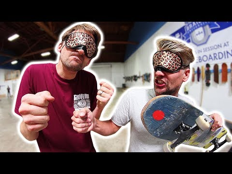 BLINDFOLDED GAME OF SKATE