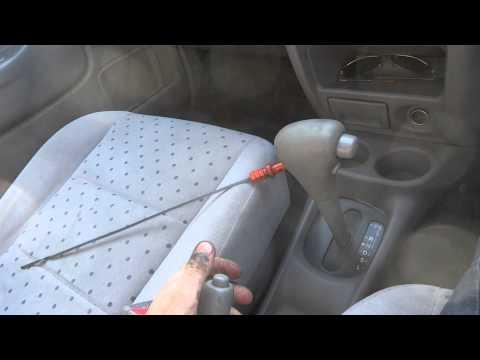Видео как проверить уровень масла в коробке Форд