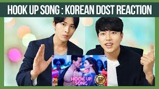 hookup song Reaction by Korean Dost | Tiger Shroff | Alia | Bollywood Reaction |