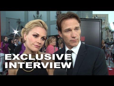 True Blood Season 7: Anna Paquin & Stephen Moyer Exclusive Premiere Interview