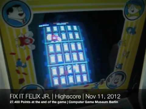Fix It Felix Jr.   Highscore   Wreck-It Ralph   Ralph Reichts